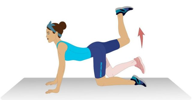 Hip Flexibility Exercises: Single Leg Glute Kicks | The Health Sessions