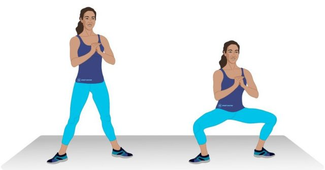 Hip Flexibility Exercises: Plié Squats | The Health Sessions