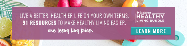 Ultimate Healthy Living Bundle Banner | The Health Sessions