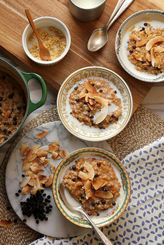 Eat More Vegetables with Every Meal: Morning Glory Oats from Joy the Baker   The Health Sessions