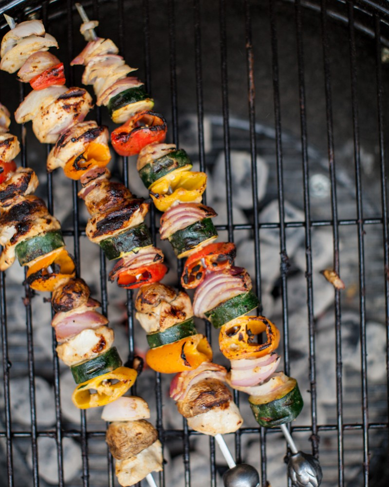 Healthy BBQ Recipes | Veggie Kebabs