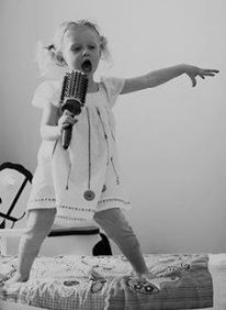 Singing away the blues