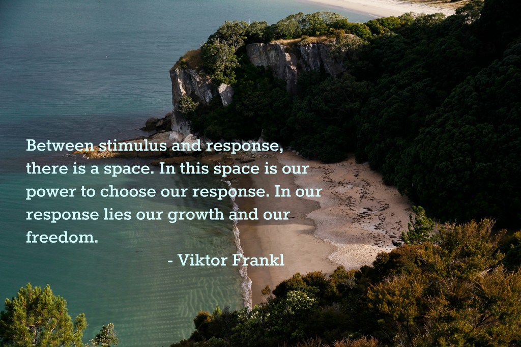 Reframing Stress | Quote Viktor Frankl