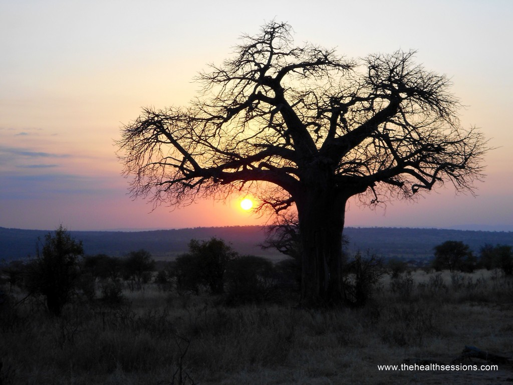 Sunset Tanzania | Unconventional Sleeping Tips