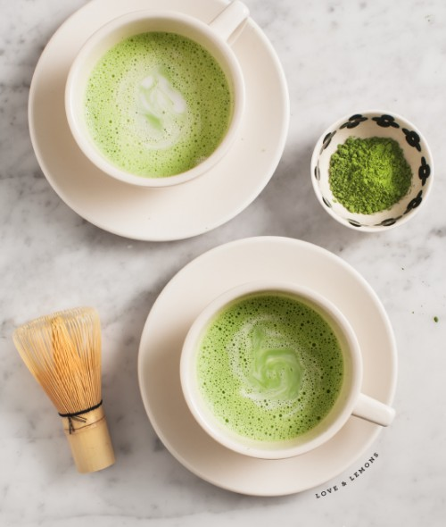 Healthy Easter Brunch - Matcha Coconut Latte