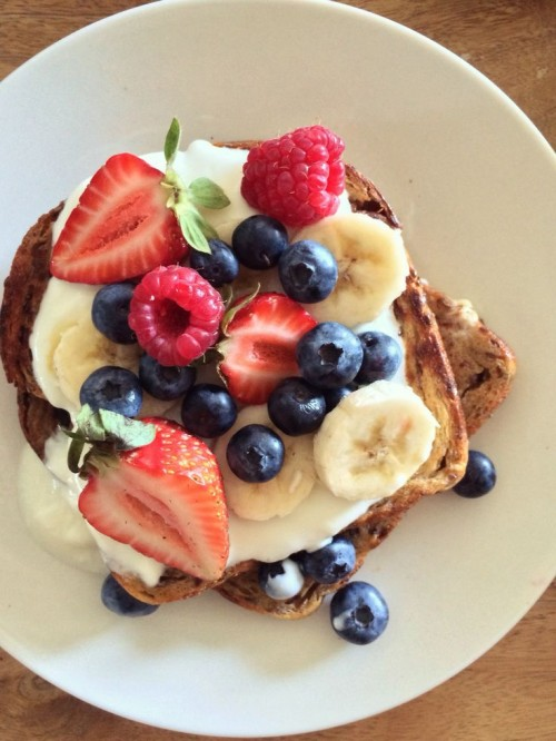 Healthy Easter Brunch - Healthier French Toast