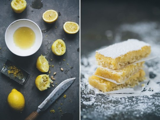 Healthy Snacks: Lemon and Coconut Bars