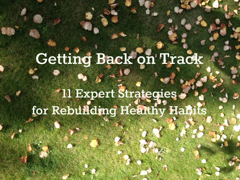 Getting Back on Track: 11 Expert Strategies on Rebuilding Healthy Habits | The Health Sessions
