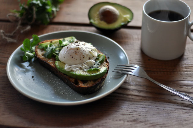 Avocado Toast with Poached Egg by TurnTableKitchen | How to Effortlessly Make a Healthy Dinner When You're Tired