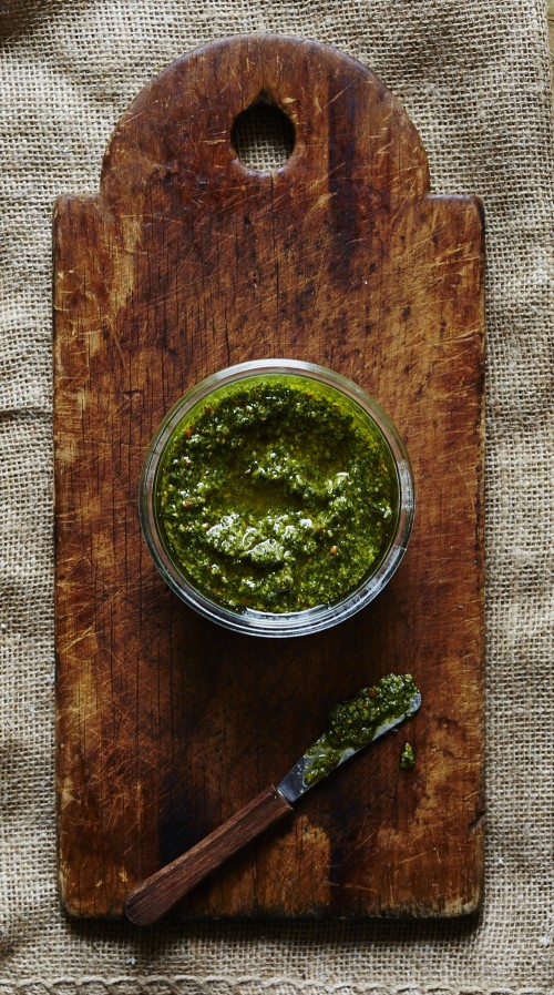 How to Enjoy More Spring Vegetables: Sting Nettle Pistachio Pesto from Sassy Kitchen | The Health Sessions