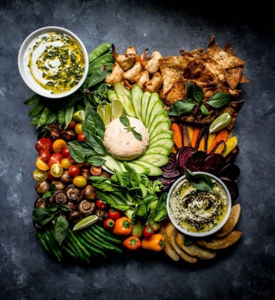 Vibrant Veggie Platters: Thai Inspired Crudite from What Do You Crave | The Health Sessions