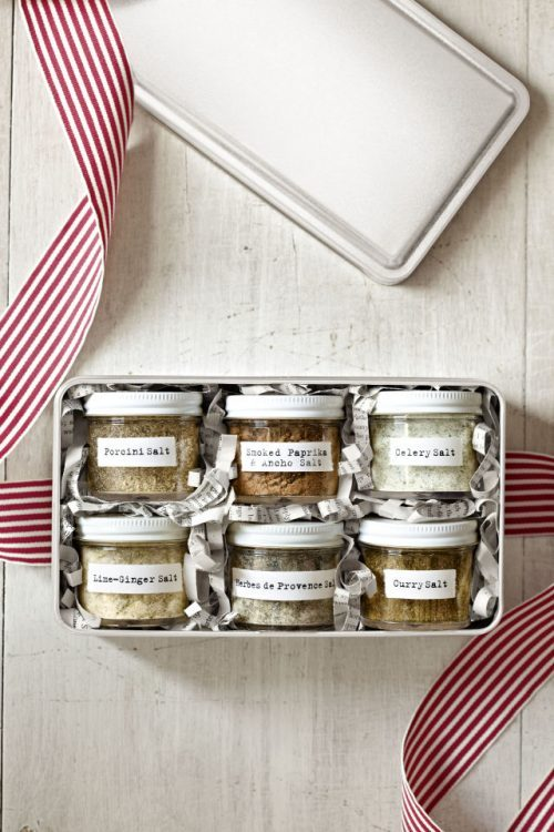 Edible Gifts for Healthy Food Lovers: Flavored Salts from Country Living | The Health Sessions