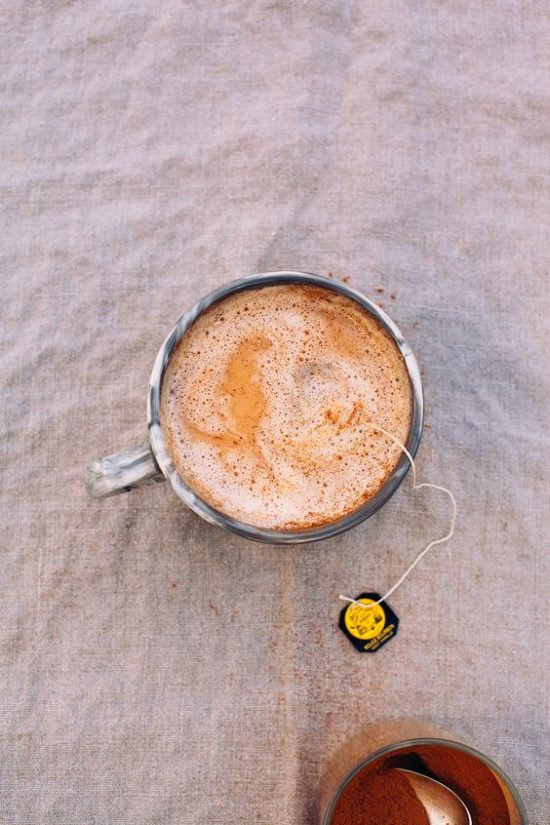 Spice Up Your Health: Vanilla Rooibos Tea Latte with Warming Spices from The First Mess | The Health Sessions