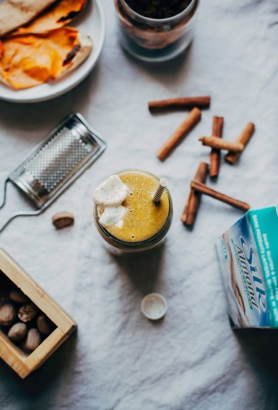 Your Favourite Fall Produce: Sweet Potato Spice Shake from The First Mess | The Health Sessions
