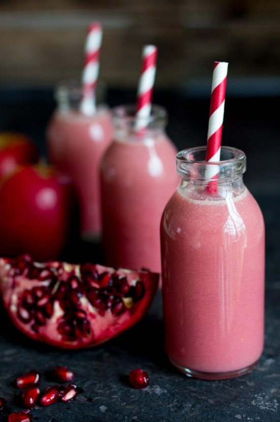 10 Health-Boosting Hot Drinks: Apple Elderflower Pomegranate Hot Smoothie | The Health Sessions