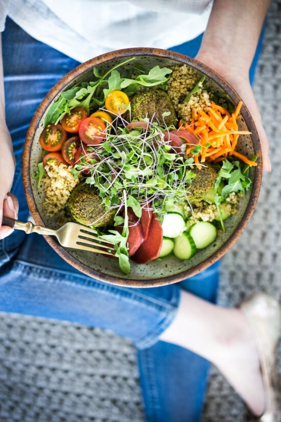 Best Bowl Food: Baked Falafel Bowls from Feasting At Home   The Health Sessions