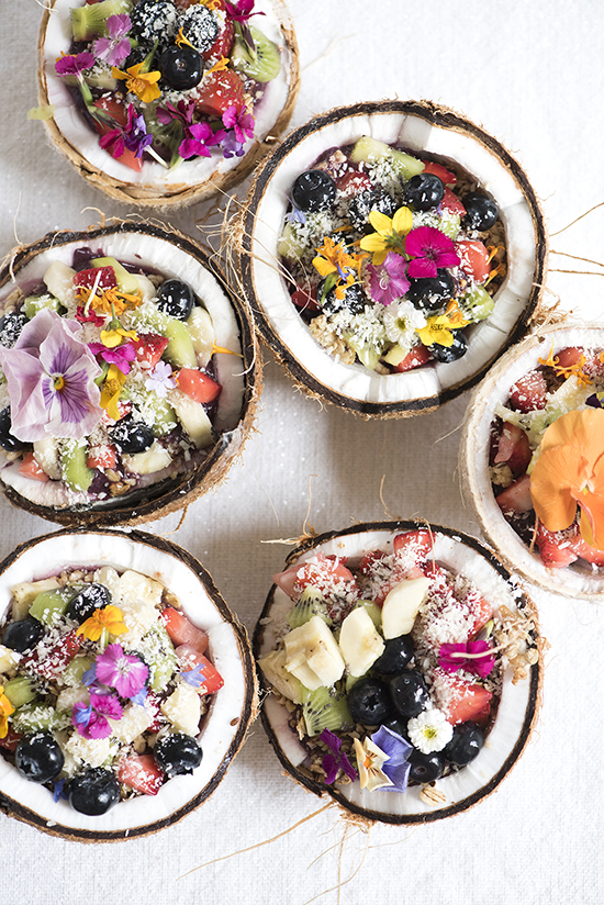 Healthy Brunch Recipes: Amaze Bowls from DesignLoveFest | The Health Sessions