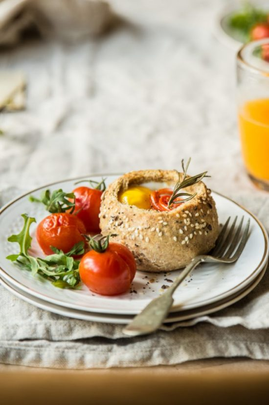 Healthy Brunch Recipes: Breakfast Bread Bowls from Bea's Cookbook | The Health Sessions