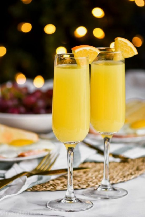 Healthy Brunch Recipes: Non-Alcoholic Mimosa from Simple Joy | The Health Sessions
