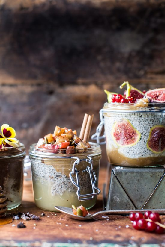 Your Favourite Fall Produce: Autumn Chia Pudding 3 Ways from Half Baked Harvest | The Health Sessions