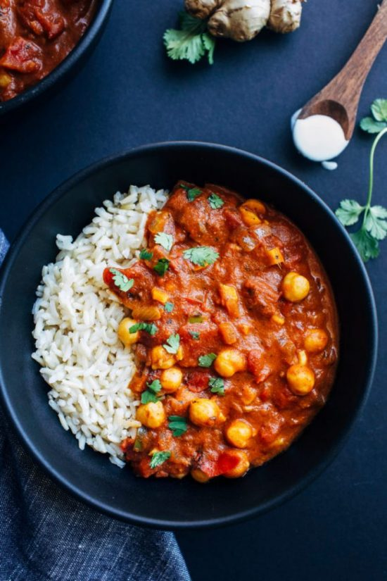 One Pot Dinner: Chickpea Tiki Masala by Making Thyme for Health | The Health Sessions