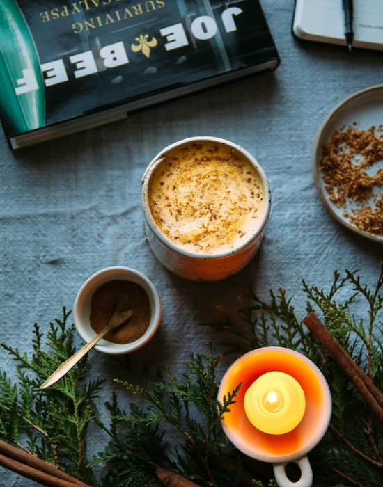 Caffeine-Free Coffee Alternatives: Cozy Carrot Cake Latte from The First Mess | The Health Sessions