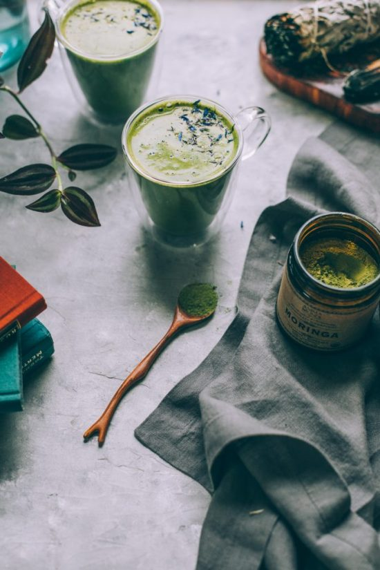 Coffee Alternatives: Coconut Butter Matcha Latte from Will Frolic For Food | The Health Sessions