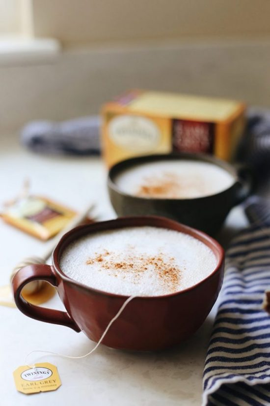 Low-Caffeine Coffee Alternatives: How to Make a London Fog by The Healthy Maven | The Health Sessions