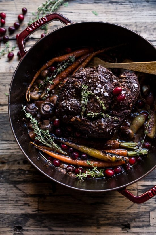 One Pot Dinners: Cranberry Pot Roast from Half Baked Harvest | The Health Sessions