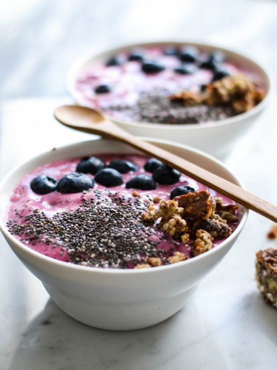 Eat Vegetables with Every Meal: Breakfast Beetroot Smoothie Bowl from A Tasty Love Story   The Health Sessions