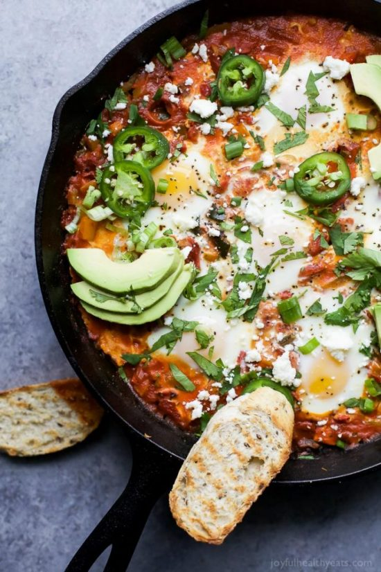 One Pot Dinners: Easy One Pot Mexican Shakshuka from Joyful Healthy Eats | The Health Sessions