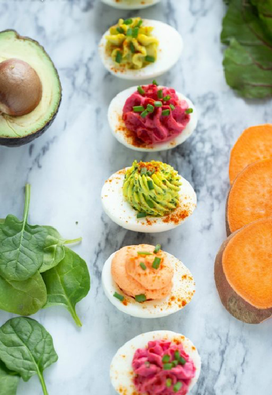 Healthy Egg Dishes: Veggie Deviled Eggs from Super Healthy Kids | The Health Sessions