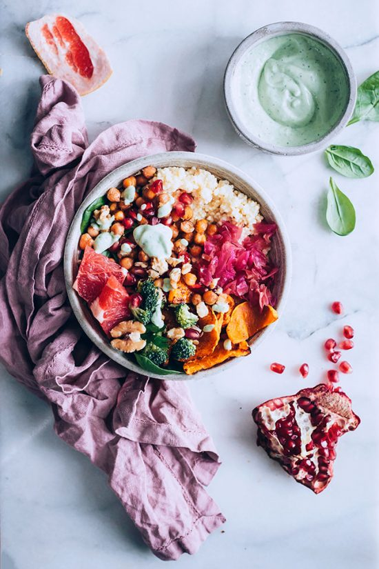 Eat More Fermented Foods: Winter Buddha Bowl by The Awesome Green   The Health Sessions