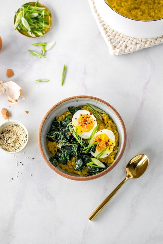 Smart Food Combinations: Savory Golden Miso Oats from Jojotastic | The Health Sessions
