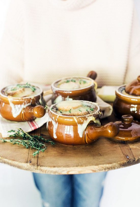Your Favourite Fall Produce: Homemade Smoked Onion Soup from Waiting on Martha | The Health Sessions