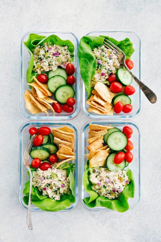 Gluten-Free Lunch Box: Tuna Salad from Chelsea's Messy Apron | The Health Sessions