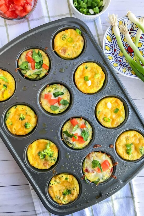Gluten-Free Lunch Box: Make Ahead Meal Prep Mini Frittatas from 31 Daily | The Health Sessions