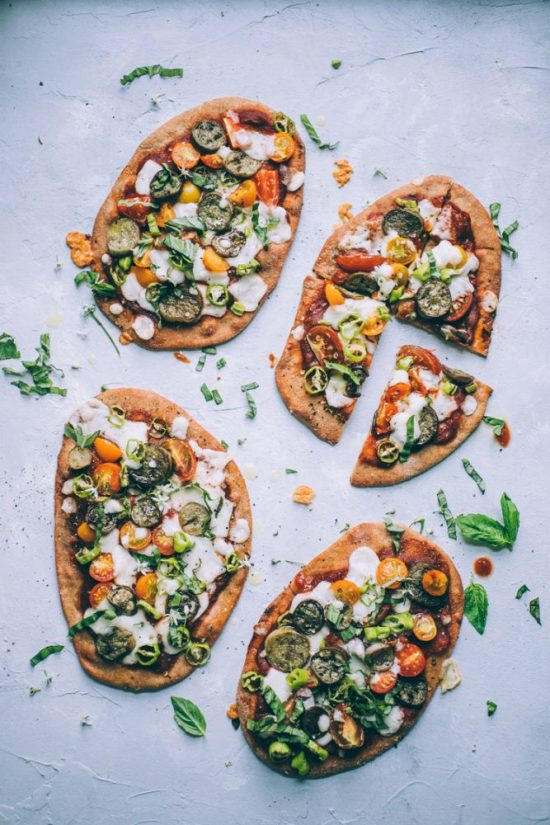 The Goodness of Grains: Spelt Naan Pizza from Will Frolic for Food | The Health Sessions