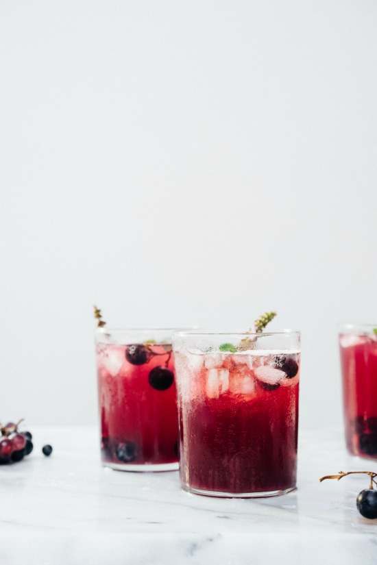 Mocktail Hour: Grape and Fennel Soda from Tending The Table | The Health Sessions