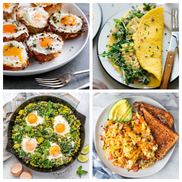 12 Healthy Egg Dishes for Any Time of Day | The Health Sessions