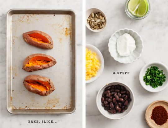 Recovery-Boosting Recipes: Healthy Loaded Sweet Potatoes from Love & Lemons | The Health Sessions