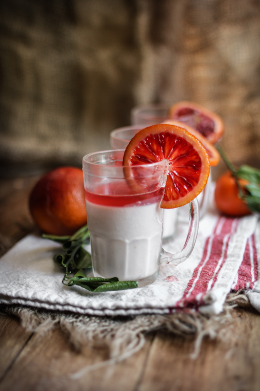 12 Better-For-You Christmas Treats: Blood Orange Panna Cotta from Adventures in Cooking | The Health Sessions