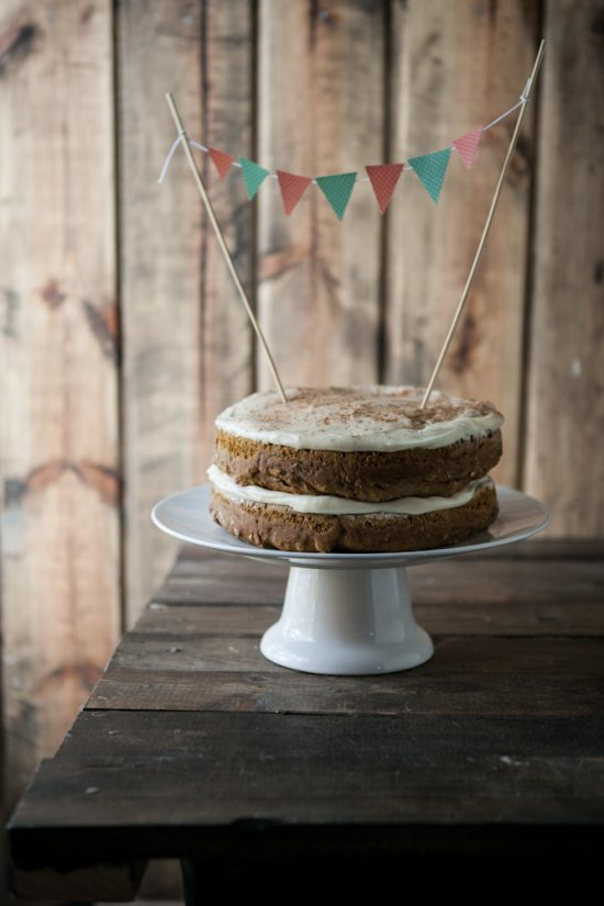 Healthy Birthday Cakes: Whole Wheat Pumpkin Cake | The Health Sessions