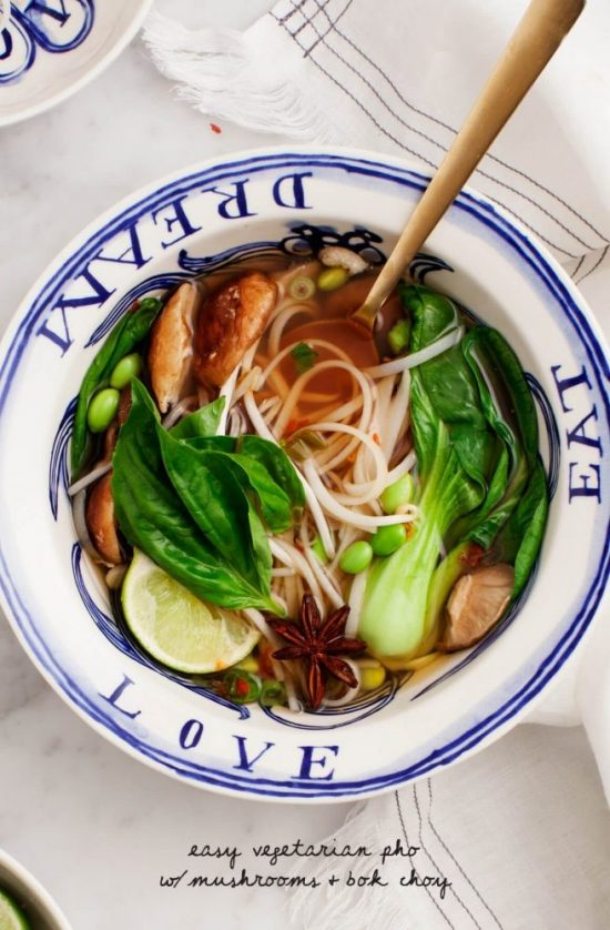 Eat More Leafy Greens: Easy Vegetarian Pho from Love & Lemons | The Health Sessions