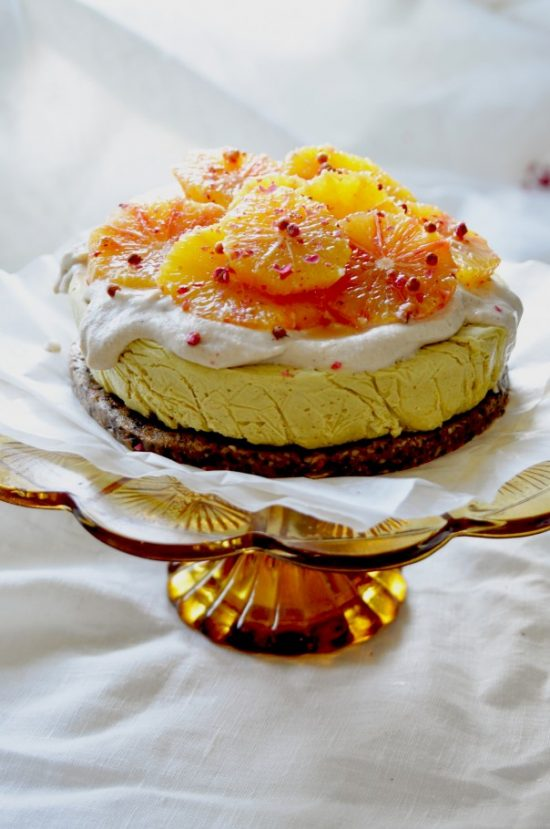 Healthy Birthday Cakes: Raw Citrus Cake from EarthSprout | The Health Sessions