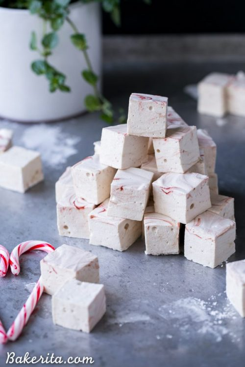 Edible Gifts for Healthy Food Lovers: Paleo Peppermint Marshmallows from Bakerita | The Health Sessions