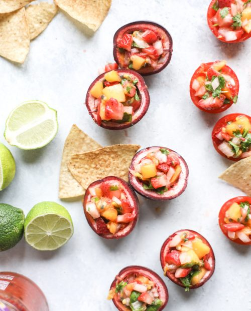 Healthy Party Food: Passionfruit Strawberry Salsa with Tostitos from howsweeteats.com | The Health Sessions
