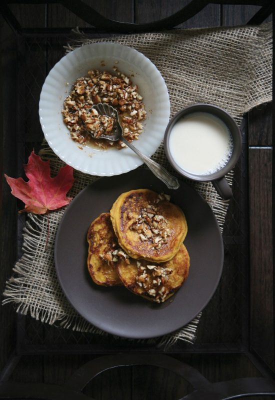 Healthy Pancakes: Pecan Pumpkin Pancakes from Pure Ella | The Health Sessions