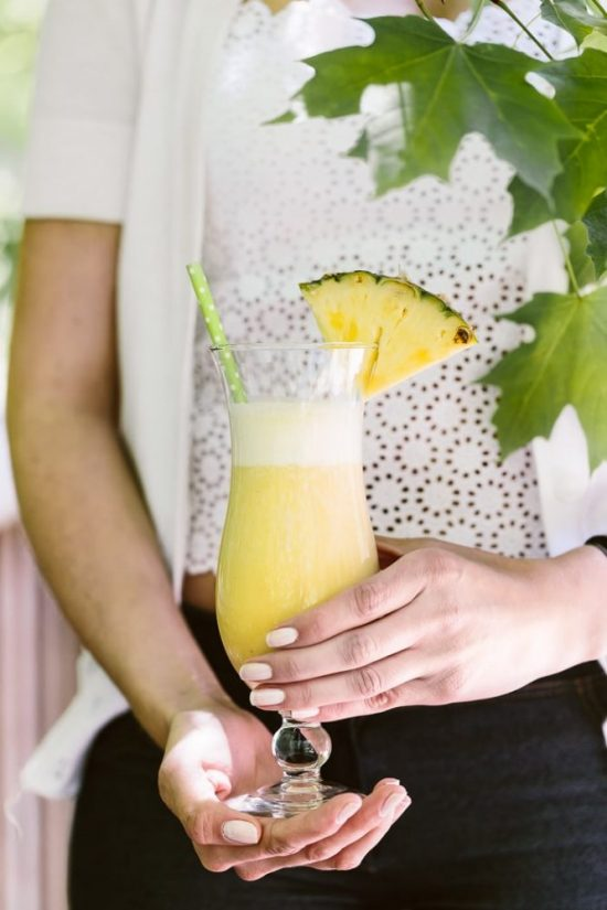 Mocktail Hour: Pina Colada Smoothie from Foolproof Living | The Health Sessions