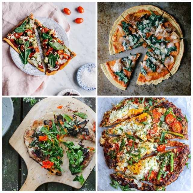 Pizza Party: 10 Healthy Crusts & Toppings